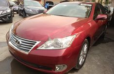 Lexus ES 2012 Red for sale