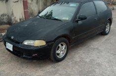 Honda Civic 1995 DX 2dr Coupe Black for sale