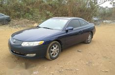 Toyota Solara 2002 Blue for sale