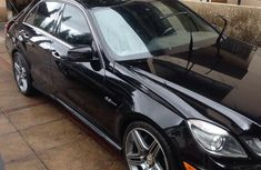 Mercedes-Benz E63 2012 Black for sale