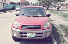 Toyota RAV4 2.0 D-4D 4x4 Sol 2004 Red for sale