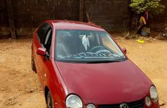 Volkswagen Polo 2004 Red for sale