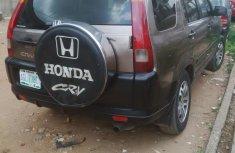 Honda CR-V 2004 Gray  for sale