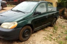 Toyota Echo 2002 Green for sale