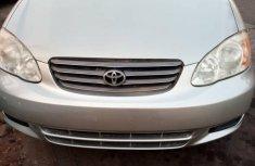Direct Toyota Corolla 2003 Silver for sale