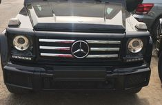 Mercedes Benz Gwagon G500 2017 Black for sale