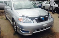 Toyota Corolla 2003 Gray for sale