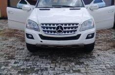 Mercedes-Benz ML 2009 White for sale