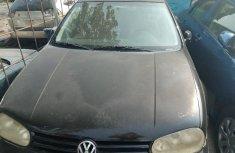 2003 Black Volkswagen Golf for sale