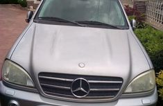 Mercedes-Benz ML 55 2005 Silver for sale