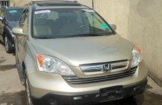 Honda CR-V 2007 Gold for sale