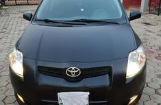 Toyota Auris 2008 1.6 Dual VVTi Black for sale