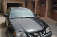 Toyota Avensis 2.0 D Verso 2002 Black for sale