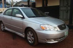 Clean Toyota Corolla Sport 2006 Silver For Sale
