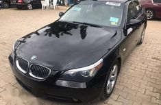 BMW 525i 2008 Black for sale