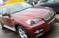 2011 Red BMW X6 Automatic for sale