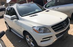 Mercedes Benz ML 350 2012 White for sale