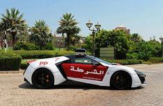 This Abu Dhabi's ₦1.2 billion Lykan Hyper-sport police car is the most expensive and rarest police car ever