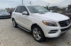 Mercedes-Benz ML350 2015 White for sale