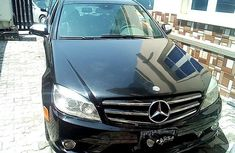 2009 Black Mercedes-Benz C300 for sale in Lagos