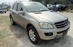 Clean Mercedes Benz ML 350 2008 Silver for sale