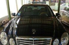 Mercedes-Benz E230 2008 Black for sale
