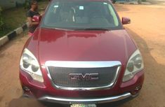 GMC Acadia 2008 Red for sale