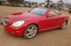 Lexus SC 2005 Red for sale