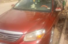 Kia Spectra EX 2005 Beige for sale