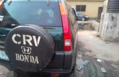 Honda CR-V 2002 2.0i ES Automatic Green for sale