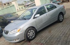 Toyota Corolla 2002 Silver for sale