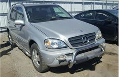 Mercedes-Benz ML320 2002 Silver for sale