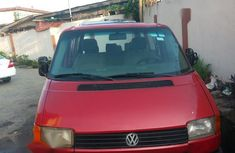Neatly Used Volkswagen Transporter 2000 Red for sale