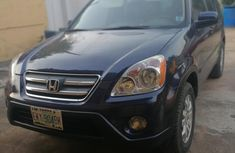 Honda CR-V 2006 LX 4WD Automatic Blue for sale