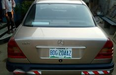 Mercedes-Benz C180 2001 Gold for sale