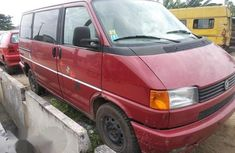 Volkswagen Transporter 2002 Red for sale