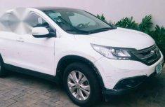 Honda CR-V 2012 White for sale