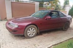 Honda Prelude 1993 Red for sale