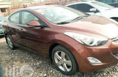 Hyundai Elantra 2013 Brown for sale