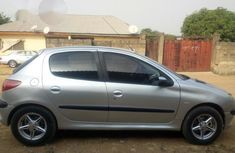 Peugeot 206 2004 Gray for sale