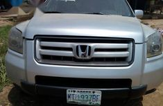 Honda Pilot 2007 Silver for sale