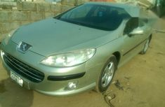 Peugeot 407 2007 Gray for sale