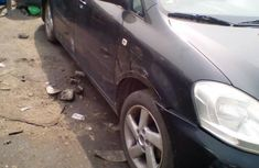 Clean Tokunbo Toyota Avensis 2002 Black for sale