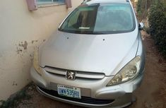 Clean Peugeot 307 2002 Silver for sale