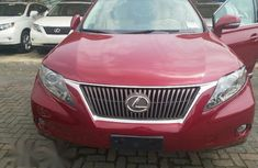 Lexus RX 350 AWD 2012 Red for sale
