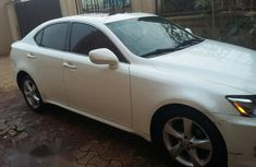 Lexus IS 250 SE AWD 2007 White  for sale