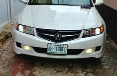 Acura TSX 2006 White for sale