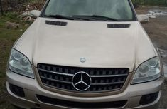 Clean Mercedes-Benz M Class ML350 2007 Gold for sale