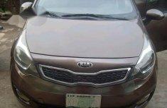 Kia Rio 2015 Brown for sale