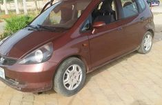 Clean Honda Jazz 2003 Red For Sale